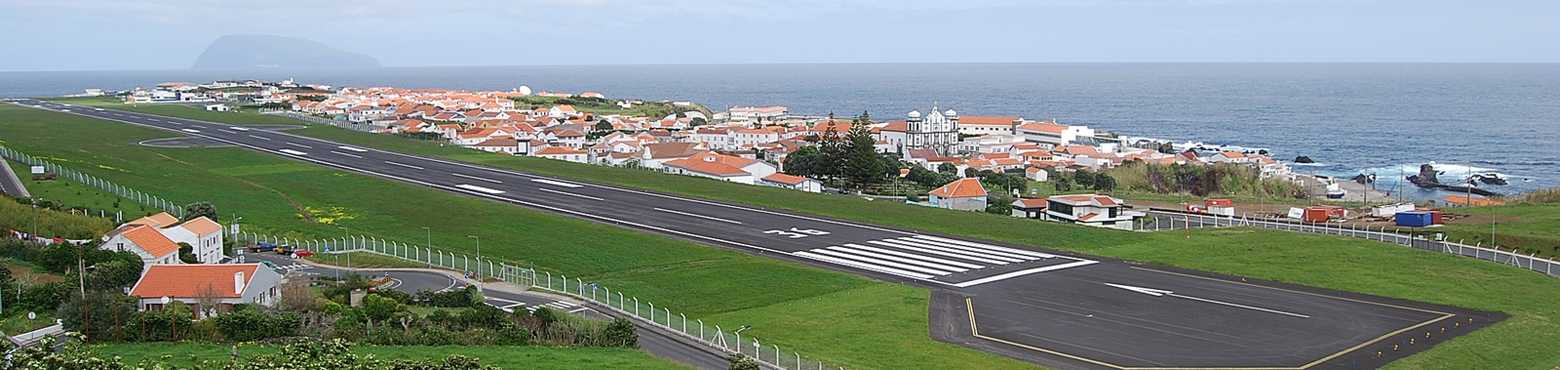 Flores Airport, Portugal