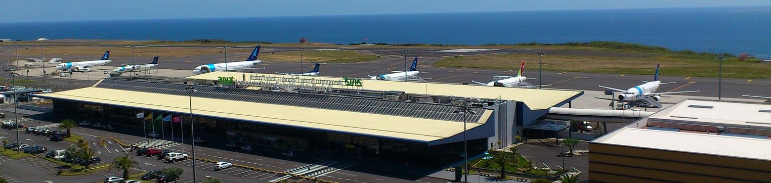 Ponta Delgada, airport Portugal