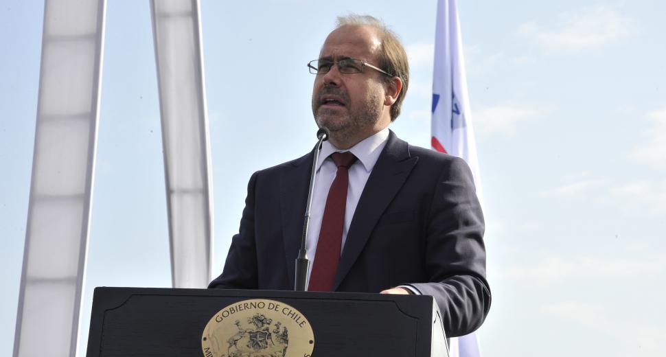 Discours du Ministre des Travaux publics, Alberto Undurraga