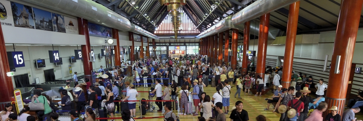 Siem Reap International Airport breaks the 2 million passenger ...