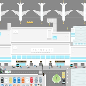 Explore all the services offered by VINCI Airports