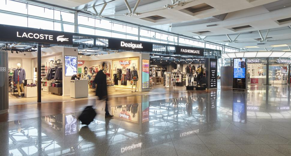 the opening of a walk-through duty free shop at Porto in 2015 gave impetus to a 24.6% increase in business across the retail spectrum