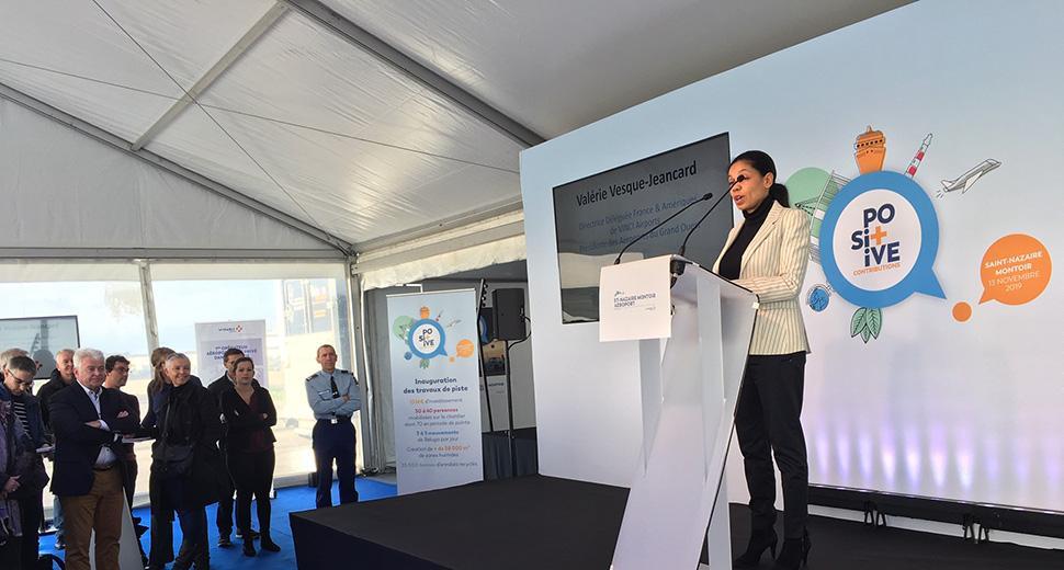Discours d'inauguration de Valérie Vesque-Jeancard