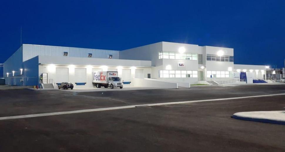 Las Americas international airport's new freight terminal