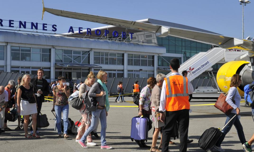 vinci airports traffic at rennes airport surpasses 500 000 passengers an increase of 4 4 for. Black Bedroom Furniture Sets. Home Design Ideas
