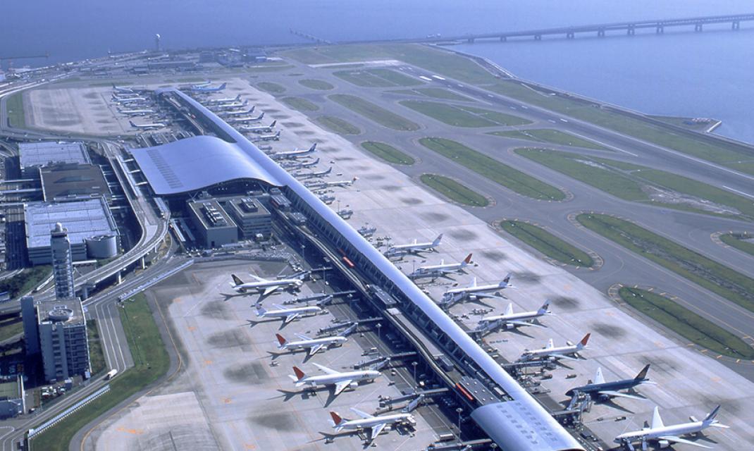 Aeroporto Osaka Kansai : Le consortium orix vinci airports désigné concessionnaire