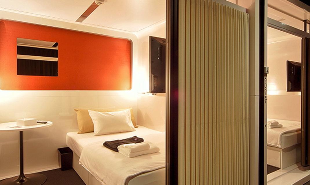 First Cabin Is A Compact Hotel Featuring The Image Of First Class Airline  Seats A Concept Well Received By Customers Not Only For Its Reasonable  Prices ...